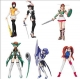 Gashapon - Namco Girl Collection P4 (set of 6)